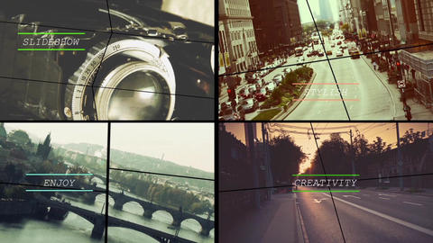 Сollision After Effects Template