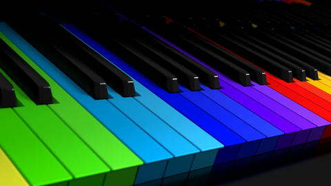 Symphony Of Colors stock footage