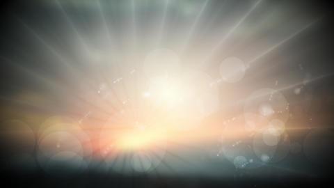 Dark sunset sky video animation Animation