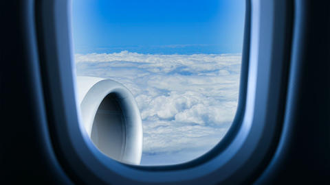 Air Travel stock footage