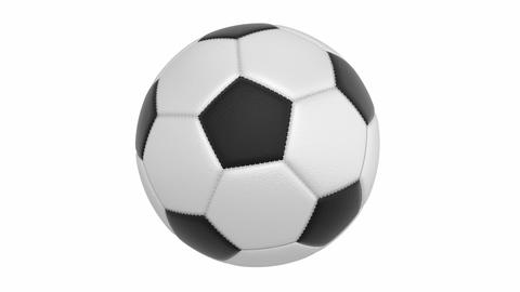 Football Ball stock footage