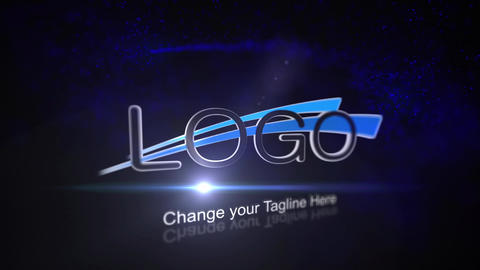 Light Streak Logo Reveal After Effects Template