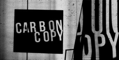 Carbon Copy Type Promo After Effects Template