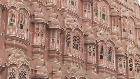 Hawa Mahal Jaipur India Footage