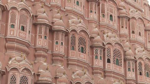 Hawa Mahal Jaipur India stock footage