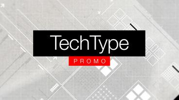 Tech Type Promo stock footage