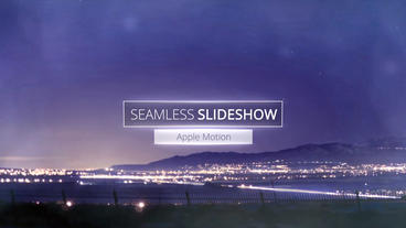 Seamless Slideshow - Apple Motion and Final Cut Pro X Template Plantilla de Apple Motion