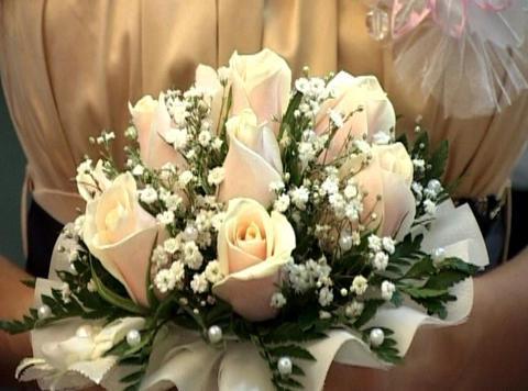 bridal bouquet Footage