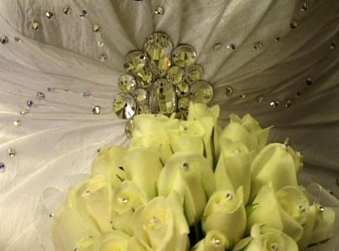 Bridal Bouquet stock footage
