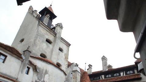 Romania. Bran. Dracula Castle stock footage