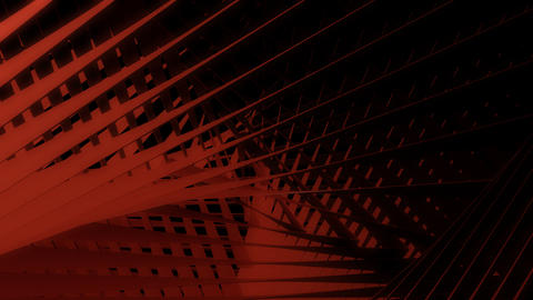 Abstract Red Line With Alpha stock footage