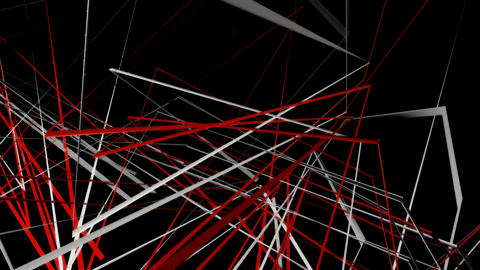 spinning abstract lines with alpha Animation