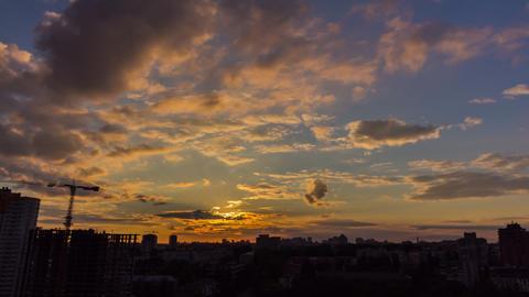 City Sunset 14 Footage