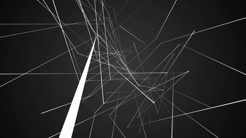 net white flying Animation