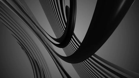 twist greyscale curve Animation