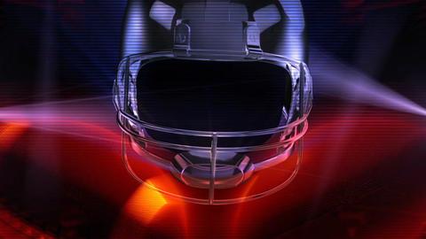 American Football stock footage