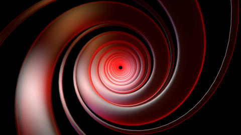 red swirl neon Animation