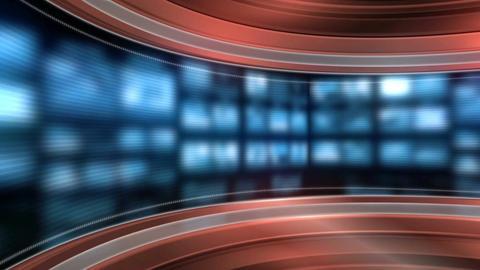 news studio Animation