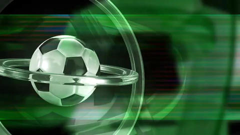 soccer background loop Animation