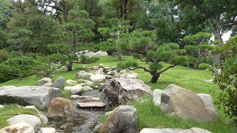 Japanese Garden of Buenos Aires Footage