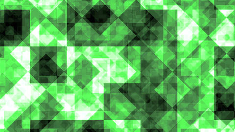 Abstract Background Green Squares 4K Animation