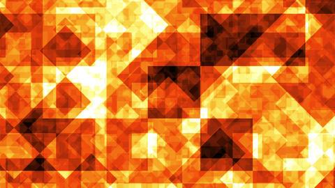 Abstract Background Orange Squares 4K Animation