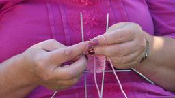 Knitting socks Live Action