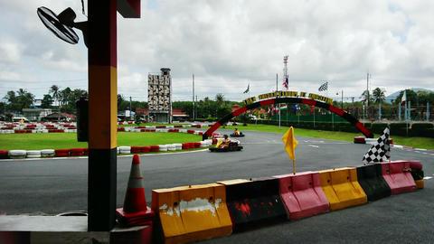 Car Racing stock footage