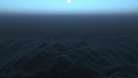 Dark Ocean Footage