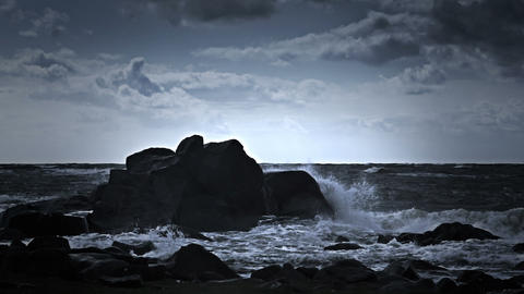Dangerous cliffs Footage