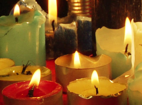 candles Footage