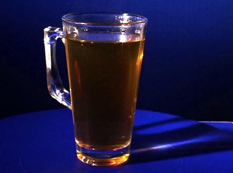 glass of tea Footage