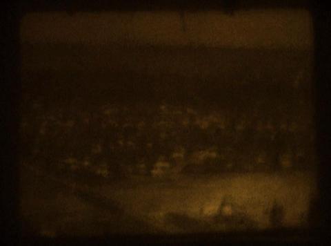 8mm Film Dust stock footage