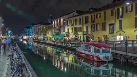 Navigli Milano Footage