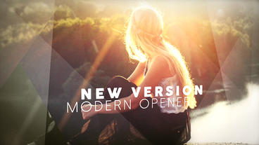 Modern Opener 6 Plantilla de After Effects