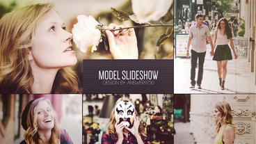 Model Slideshow After Effects Project