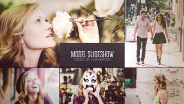 Model Slideshow After Effects Template