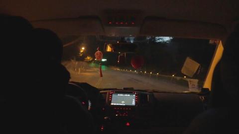 night drive in Alishan Live影片