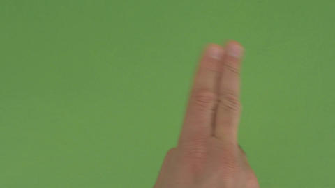 11 Male Multi Touch Touchscreen Hand Gestures, Green Screen, Ipad, Iphone stock footage