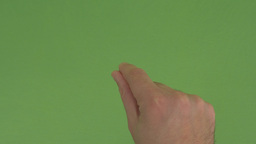 11 Male Multi Touch Touchscreen Hand Gestures, Green... 動画素材, ムービー映像素材