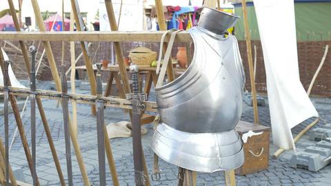 Medieval Armour Footage