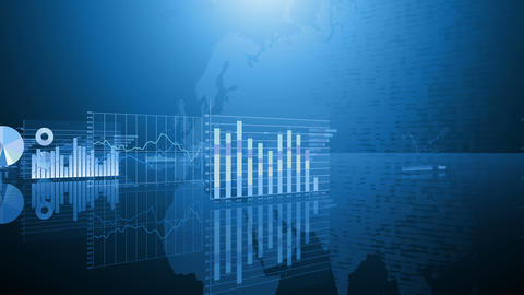 Business Graph M Kmd 4 K stock footage