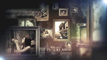 Epic Picture Show After Effects Project