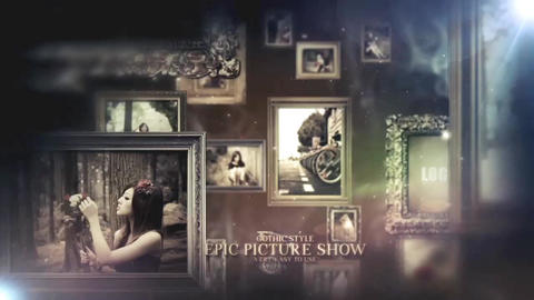Epic Picture Show After Effectsテンプレート