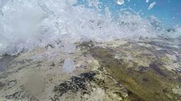 splashing waves Footage