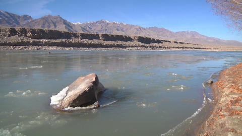 Indus River stock footage