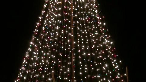 Moving Christmas Decorations Christmas Tree Footage