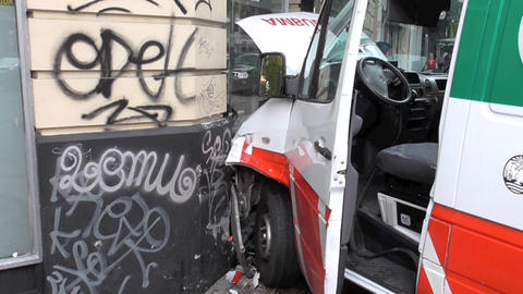 Ambulance Crash Accident Live Action
