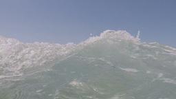 sea wave billows Footage