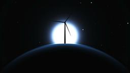 風力発電 Stock Video Footage